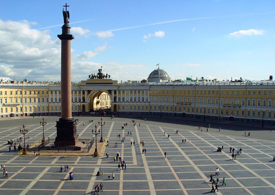 Фотография Дворцовой площади