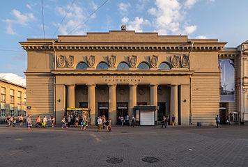 Фотография станции метро Балтийская (Балтийский вокзал)