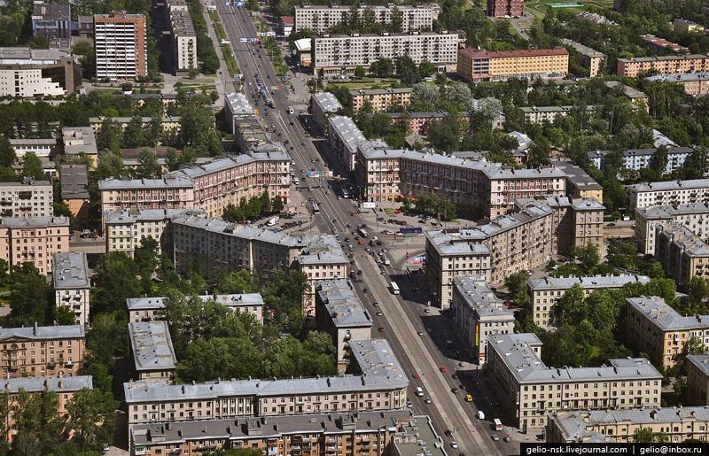 Фотография перекрёстка на Новочеркасской